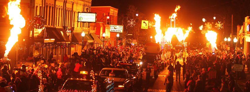 christmasintheville parade 2013 1