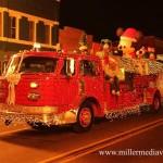 christmasintheville parade 2013 firetruck