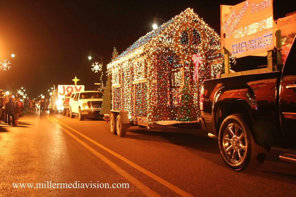 christmasintheville parade 2013 parade