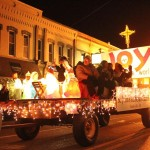 christmas in the ville float