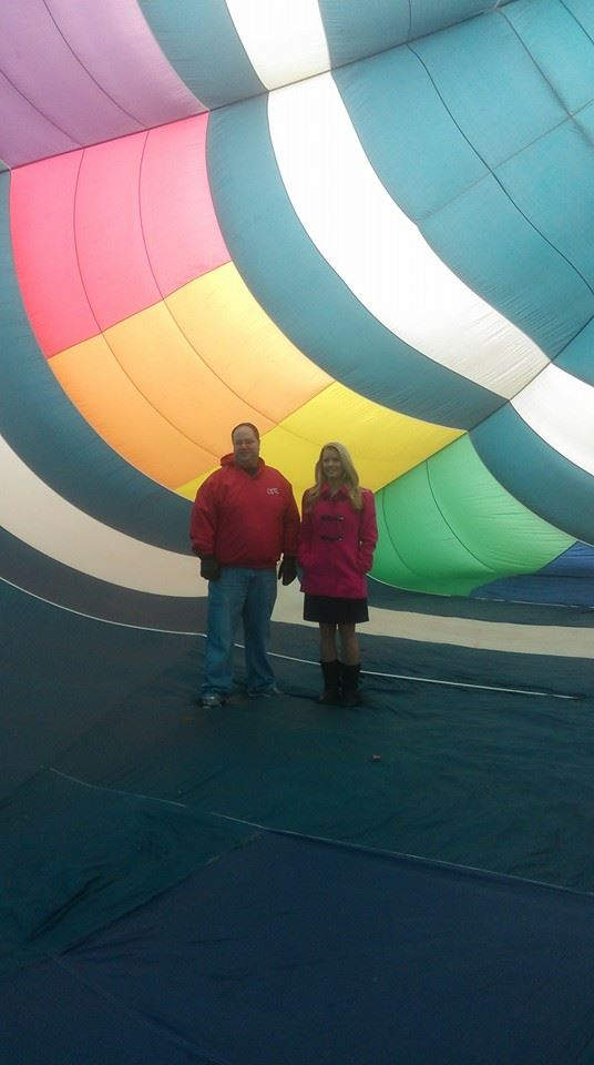 fowlerville christmas in the ville balloon