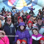 fowlerville christmas in the ville hot air balloon launch