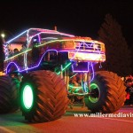 fowlerville christmas in the ville monster truck float